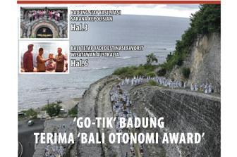 Go-Tik Badung Terima Bali Otonomi Award